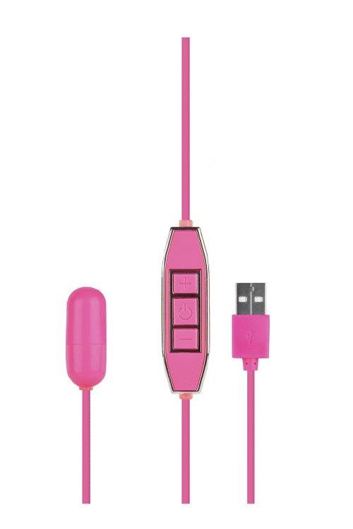 Let Us-B 10 Rhythms Bullet Small Pink