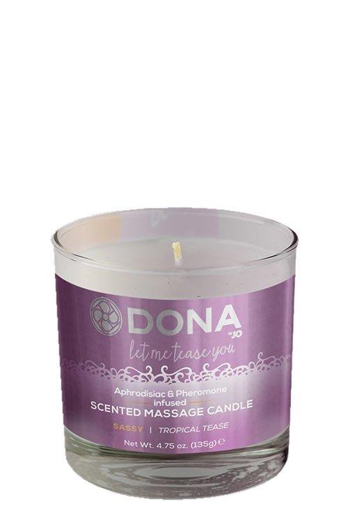 Dona Scented Massage Candle - Sassy