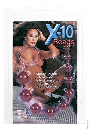 X-10 Beads Purple