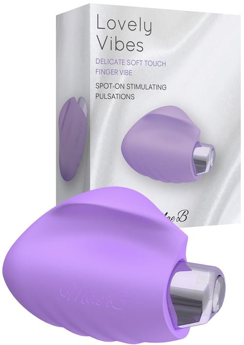 Soft Touch Finger Vibe Purple
