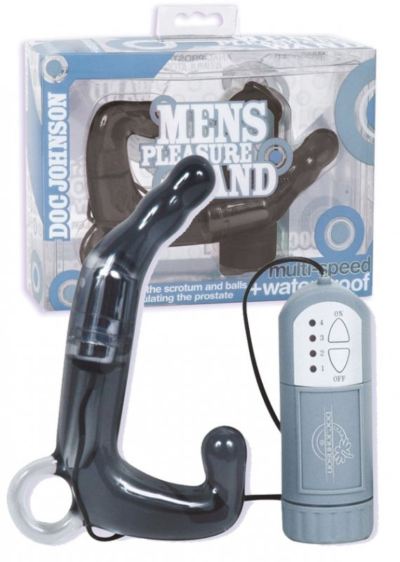 Mens Pleasure Wand -Charcoal
