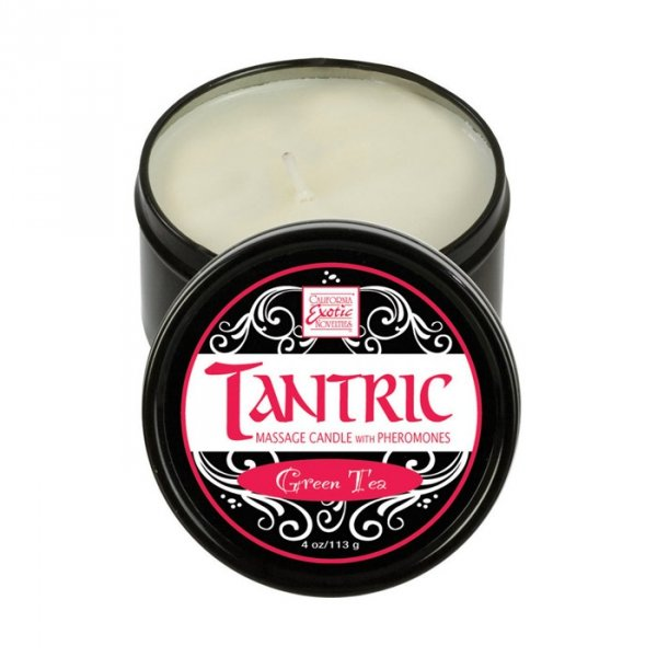 TantricSoy Massage Candle With Pheromones Pomegranate Ginger