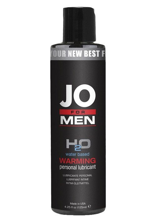 Jo For Men H2o Lube Warm 126 ml