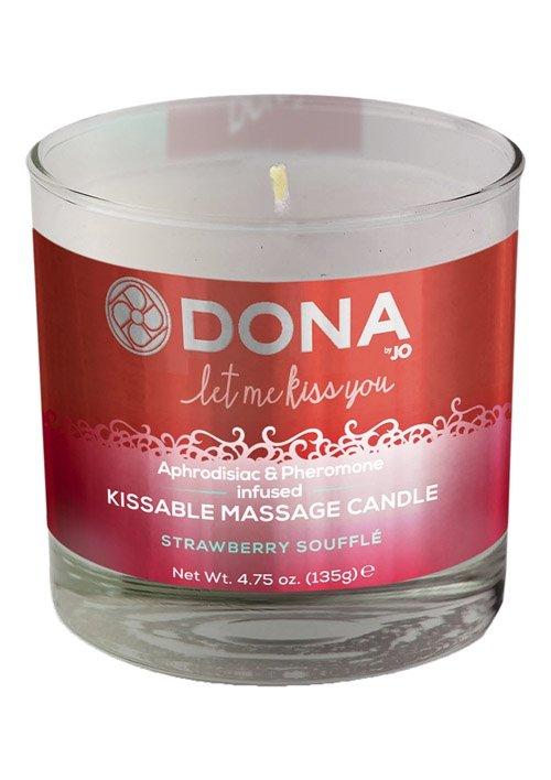 Massage Candle Strawberry 135 G
