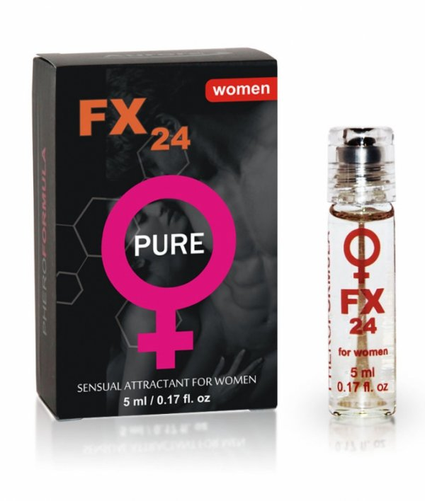 FX24 for women pure roll-on 5 ml pheromone