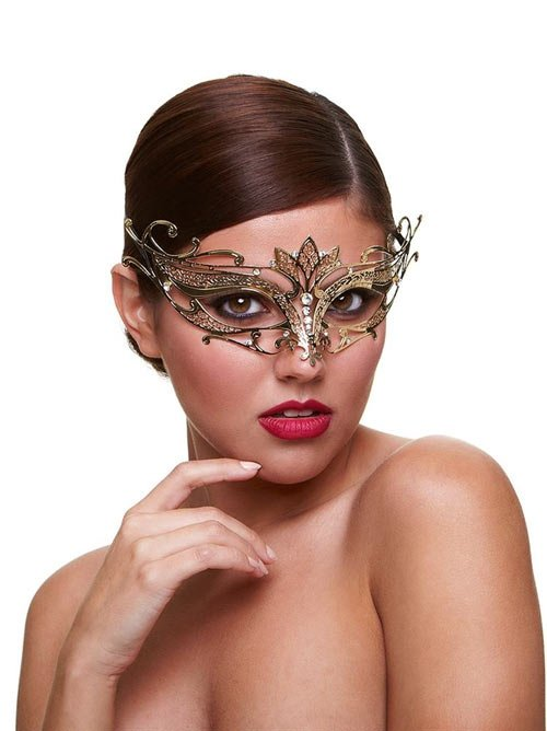 Metal Venetian Masque - Private Affair