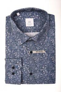 Koszula męska Slim - w kwiatowy wzór