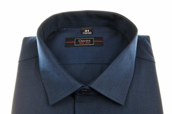 Koszula męska XXL - granatowa