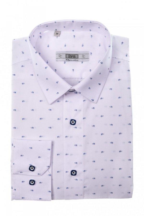 Koszula męska XXXL - biała w saneczki