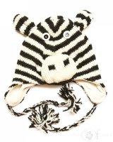 Czapka zebra