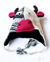 Czapka krowa