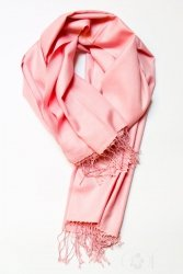 Różowy szal / chusta