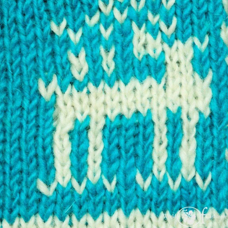 Mitenki niebieskie