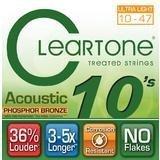 CLEARTONE EMP 10' Struny do gitary akustycznej