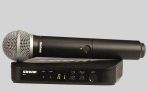 SHURE BLX24E/PG58 Mikrofon bezprzewodowy