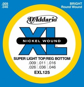 D'Addario EXL (09-46) Nickel Wound