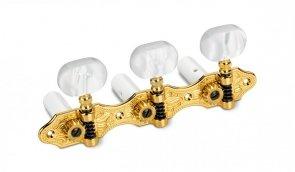 Schaller Hauser Acrylic Gold Klucze do gitary klasycznej