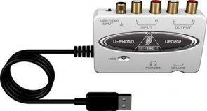 BEHRINGER U-PHONO UFO202 Interfejs audio