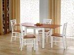 Stół rozkładany GRACJAN olcha/biały