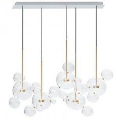 Lampa wisząca CAPRI LINE 5 - LED, szkło, metal