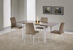 Stół rozkładany ALSTON beżowy/biały
