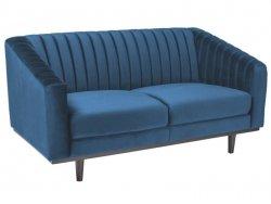 Sofa ASPREY VELVET granatowa