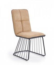 Krzesło K269 jasny brąz/czarny