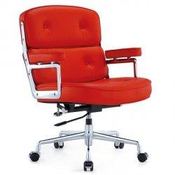 Fotel biurowy ICON PRESTIGE PLUS czerwony