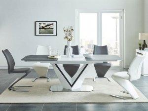 Stół rozkładany VALERIO CERAMIC 160(220)x90 biały