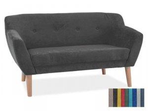 Sofa BERGEN 2 ciemny szary/buk