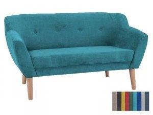 Sofa BERGEN 2 turkusowa/buk
