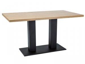 Stół SAURON 150x90 okleina dąb/czarny