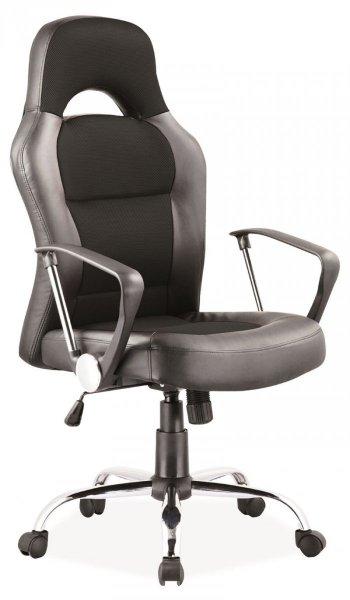 Fotel gabinetowy obrotowy Q-033 Czarny