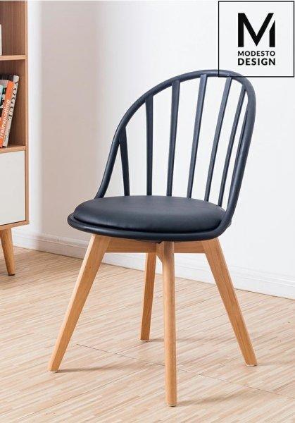 MODESTO krzesło ALBERT czarne