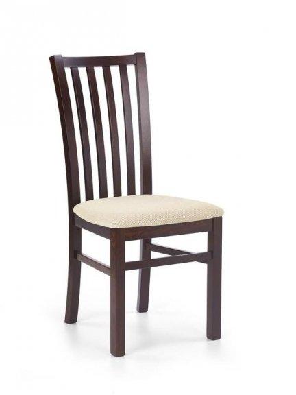 Krzesło drewniane GERARD 7 ciemny orzech