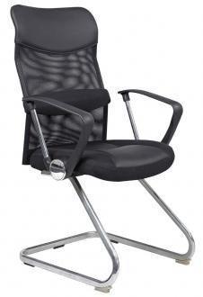 Fotel gabinetowy Q-030 Czarny