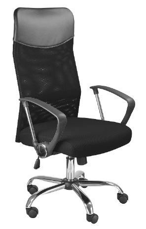 Fotel obrotowy Q025 czarny