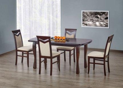 Stół rozkładany HENRYK ciemny orzech