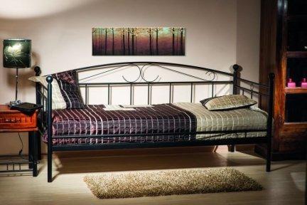 Łóżko ANKARA 90x200 czarny