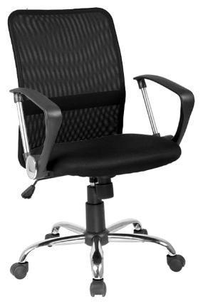 Q-078 Fotel gabinetowy czarny