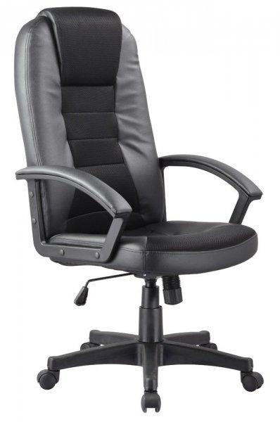 Fotel gabinetowy obrotowy Q-019 Czarny