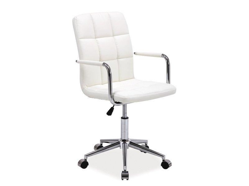 Fotel obrotowy Q022 biały