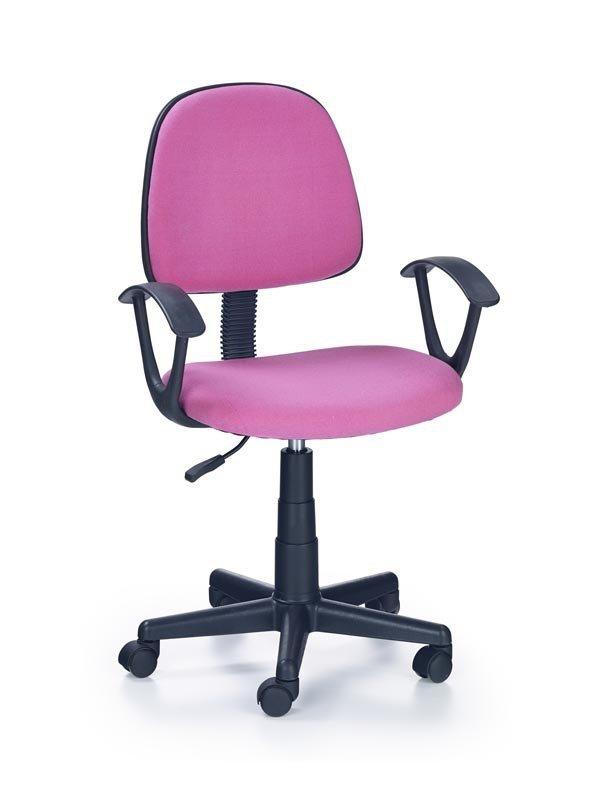 Fotel młodzieżowy DARIAN BIS różowy