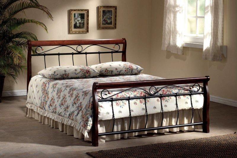 Łóżko VENECJA 180x200 czereśnia antyczna