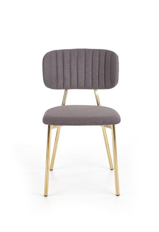 Krzesło K362 ciemno popielate
