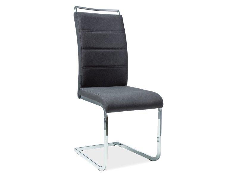 Krzesło H441 czarne tkanina