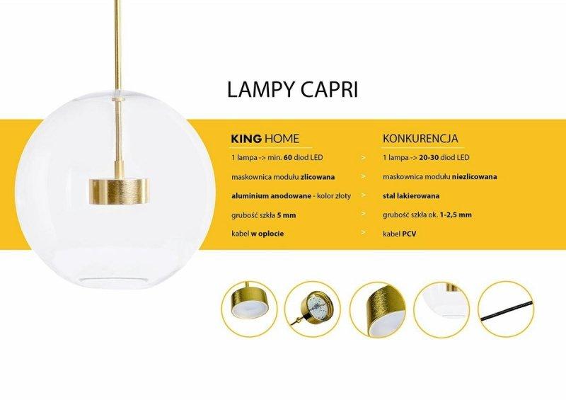 Lampa wisząca CAPRI LINE 5
