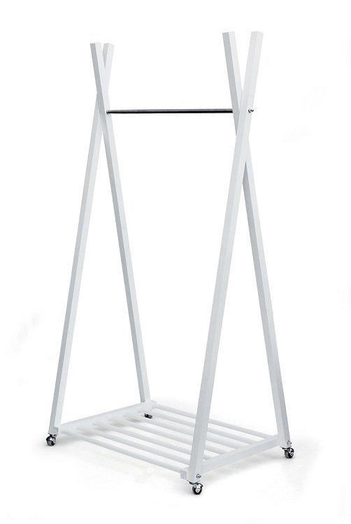 Wieszak stojący B-4 M biały