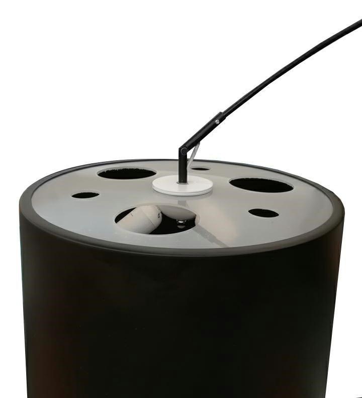 Lampa podłogowa CLEO czarna
