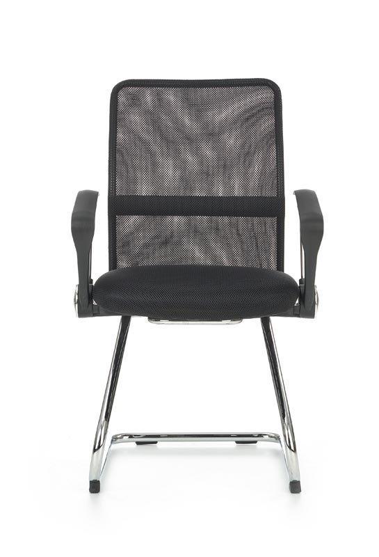 Fotel biurowy VIRE SKID czarny